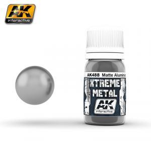 AK Interactive XTERME METAL MATTE ALUMINIUM