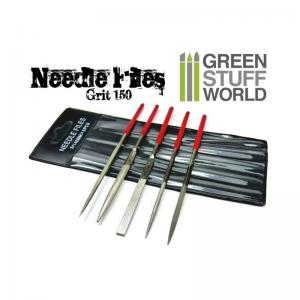 Green Stuff World Diamond Needle File Set (5 pcs)