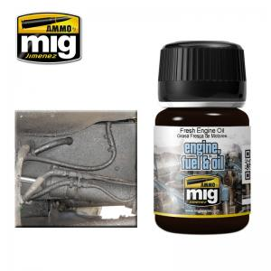 Ammo Mig Jimenez Enamel Effects - Fresh Engine Oil
