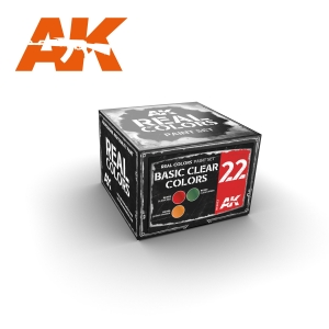 AK Interactive BASIC CLEAR COLORS