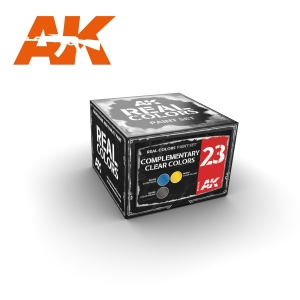 AK Interactive COMPLEMENTARY CLEAR COLORS