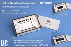 RP Toolz Deluxe Wooden Storage Box for RPT-HEX/BIG/LHEX