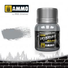 Ammo Mig Jimenez Dry Brush Paint - Medium Grey