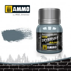 Ammo Mig Jimenez Dry Brush Paint - Basalt Grey