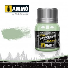 Ammo Mig Jimenez Dry Brush Paint - Bright Green