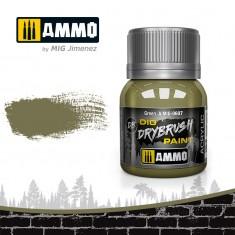 Ammo Mig Jimenez Dry Brush Paint - Green