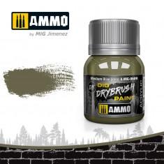 Ammo Mig Jimenez Dry Brush Paint - Medium Olive Green