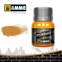 Ammo Mig Jimenez Dry Brush Paint - Light Rust