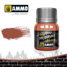 Ammo Mig Jimenez Dry Brush Paint - Rust