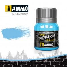 Ammo Mig Jimenez Dry Brush Paint - Medium Blue