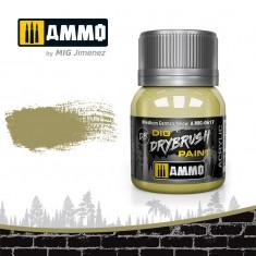 Ammo Mig Jimenez Dry Brush Paint - Medium German Yellow