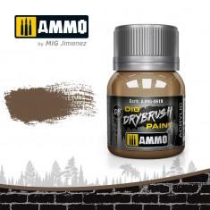 Ammo Mig Jimenez Dry Brush Paint - Earth