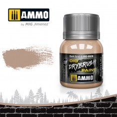 Ammo Mig Jimenez Dry Brush Paint - Dark Sand