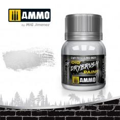 Ammo Mig Jimenez Dry Brush Paint - Light Metal