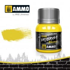 Ammo Mig Jimenez Dry Brush Paint - Faded Yellow