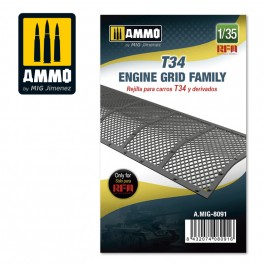 Ammo Mig Jimenez T-34 - Engine Grid Family