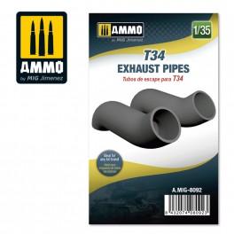 Ammo Mig Jimenez T-34 - Exhaust Pipes