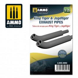 Ammo Mig Jimenez King Tiger & Jagdtiger - Exhausts