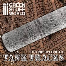 Green Stuff World Rolling Pin - Tank Tracks