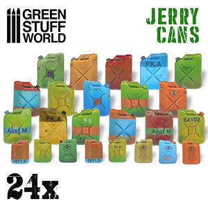 Green Stuff World Jerry Cans (24 pcs)