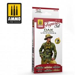 Ammo Mig Jimenez DAK UNIFORMS (AFRIKA KORPS) FIGURES SET
