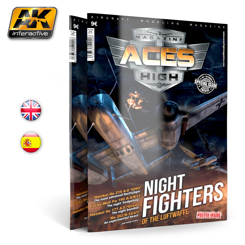 AK Interactive Issue 1. A.H. NIGHT FIGHTERS English