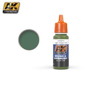 AK Interactive Light Green Nº1 (FS34151)