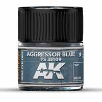 AK Interactive Aggressor Blue FS 35109 10ml