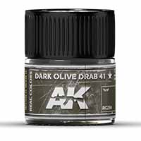 AK Interactive Dark Olive Drab 41 10ml