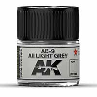 AK Interactive AE-9 / AII Light Grey 10ml