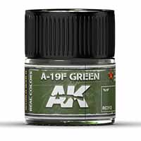 AK Interactive A-19F Grass Green 10ml