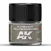AK Interactive A-21M Light Yellowish Brown 10ml