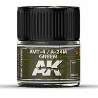AK Interactive AMT-4 / A-24M Green 10ml