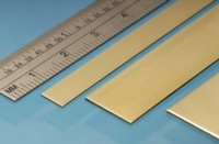 Albion Alloys Brass Strip - 25,0 x 0,6 mm