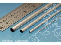 Albion Alloys Nickel Silver Micro Tube - 0,7/0,5 mm
