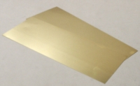 Albion Alloys Brass Sheet - 0,12 mm