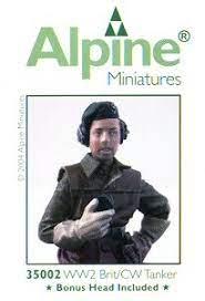 Alpine Minatures WW2 Brit/CW Tanker