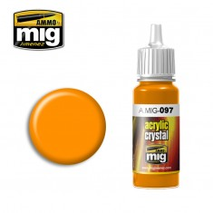 Ammo Mig Jimenez Crystal Acrylics - Orange