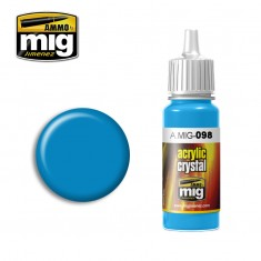 Ammo Mig Jimenez Crystal Acrylics - Light Blue