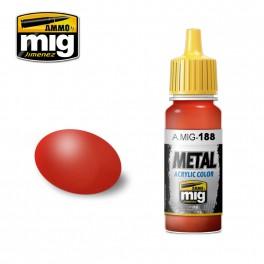Ammo Mig Jimenez Metallic Red