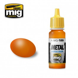 Ammo Mig Jimenez Metallic Orange
