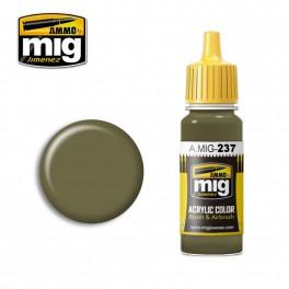 Ammo Mig Jimenez FS 23070 Dark Olive Drab