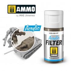 Ammo Mig Jimenez ACRYLIC FILTER Dirt