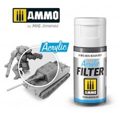 Ammo Mig Jimenez ACRYLIC FILTER Medium Grey