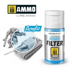 Ammo Mig Jimenez ACRYLIC FILTER Sky Blue