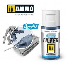 Ammo Mig Jimenez ACRYLIC FILTER French Blue