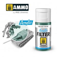 Ammo Mig Jimenez ACRYLIC FILTER Turquoise