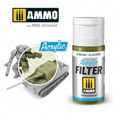 Ammo Mig Jimenez ACRYLIC FILTER Yellow Green