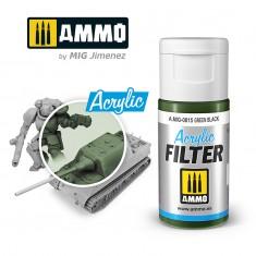 Ammo Mig Jimenez ACRYLIC FILTER Green Black