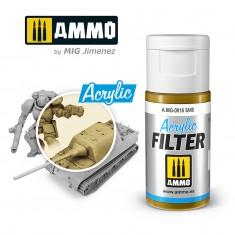 Ammo Mig Jimenez ACRYLIC FILTER Sand